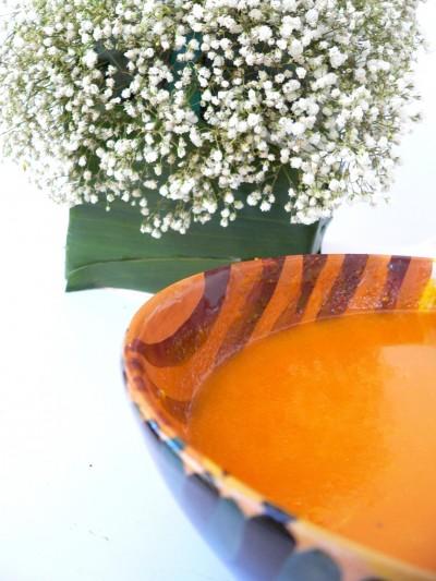 Vellutata di zucca e carote