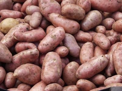 Crocchette di patate rosse e melanzane