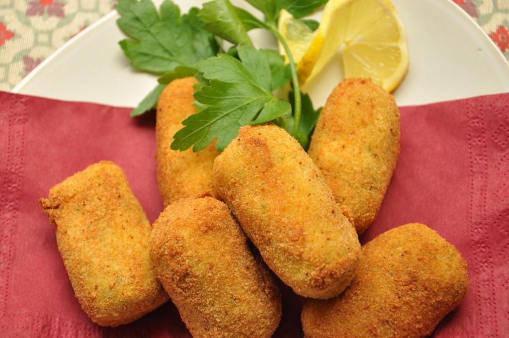 Crocchette di patate e salmone