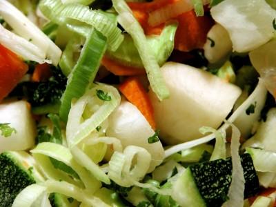 Risotto con verdure alla paesana