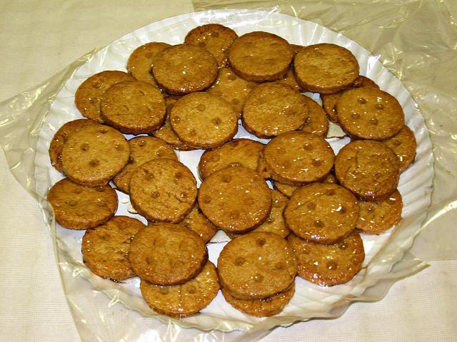 Biscotti al miele senza burro