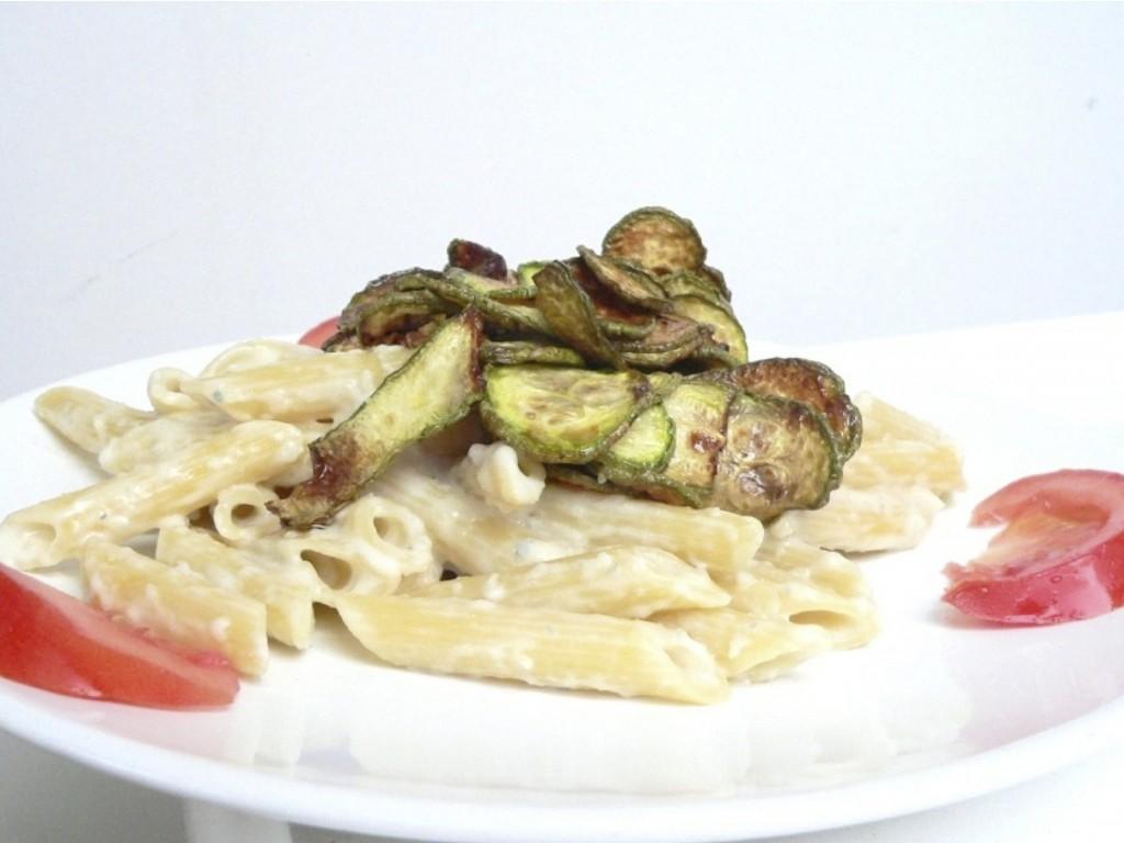Pasta zucchine e gorgonzola