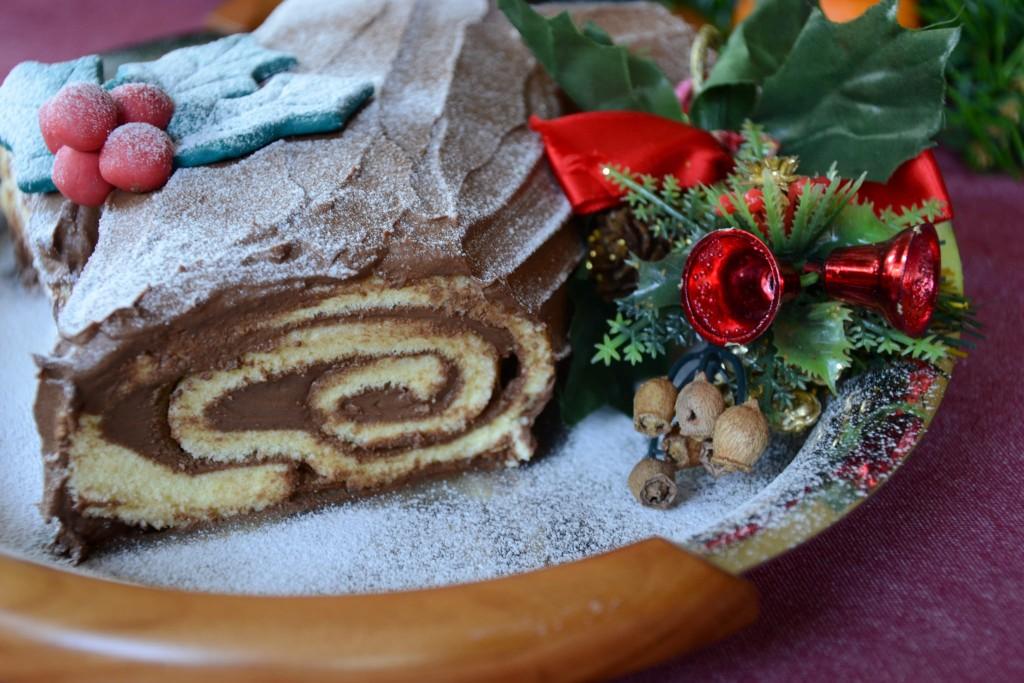 Ricette Dolci Natalizi Bimby.Tronchetto Di Natale