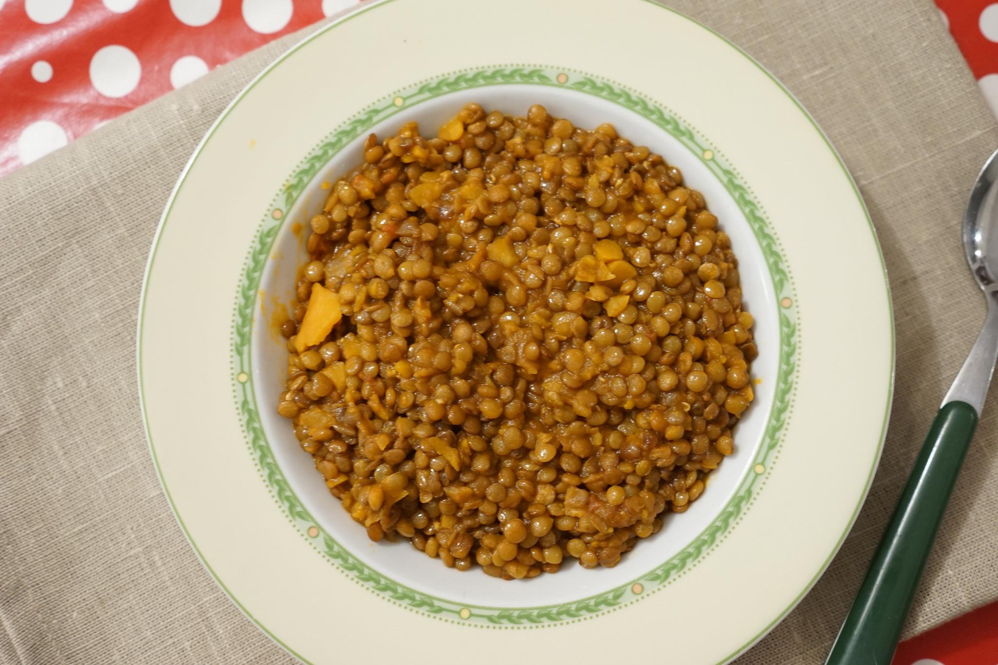 Ricetta Lenticchie Senza Pomodoro.Lenticchie Bimby Tm31 Tm5
