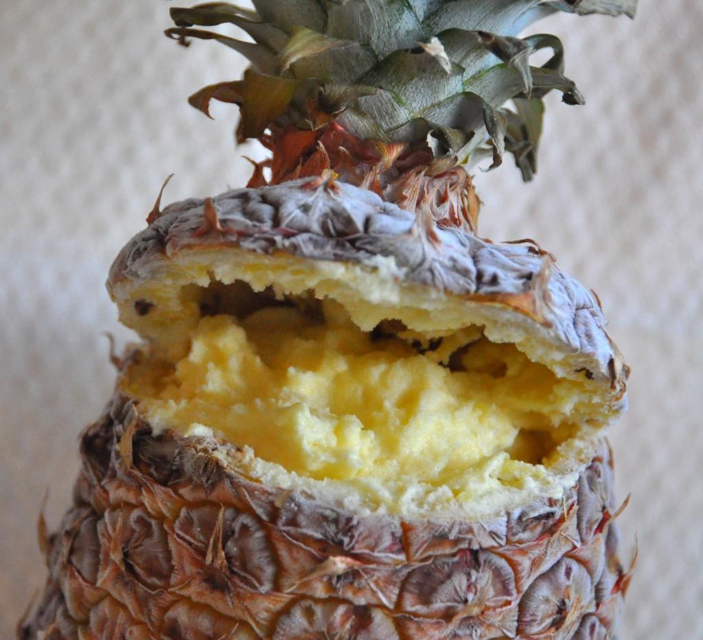 Gelato all'ananas
