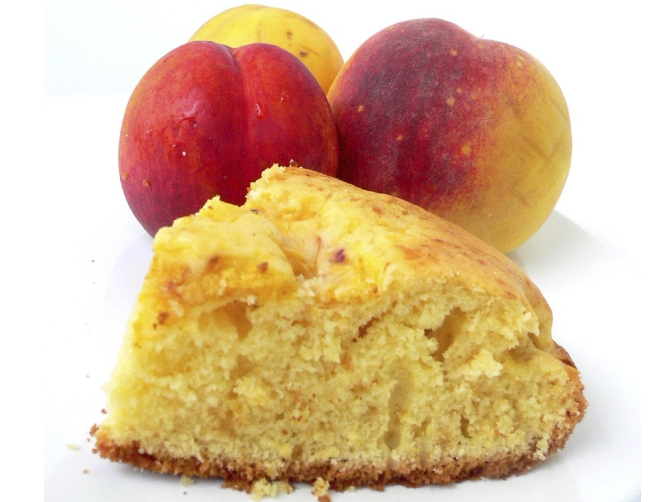 Torta di pesche e yogurt bimby tm31 tm5 for Ricette bimby torte