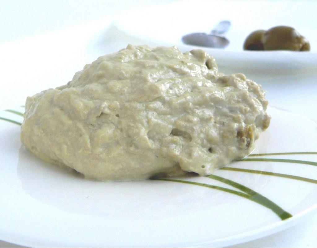 Patè di olive verdi e Philadelphia