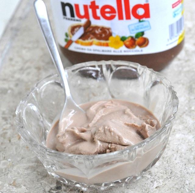 Ricetta gelato bimby variegato alla nutella