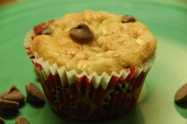 Muffin con ricotta e cioccolato