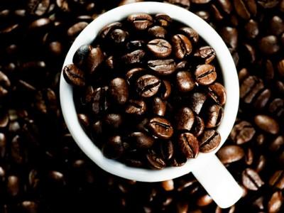 Torta con gocce di cioccolato e caffè