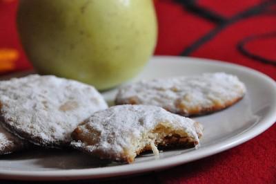 Biscotti di mele senza uova