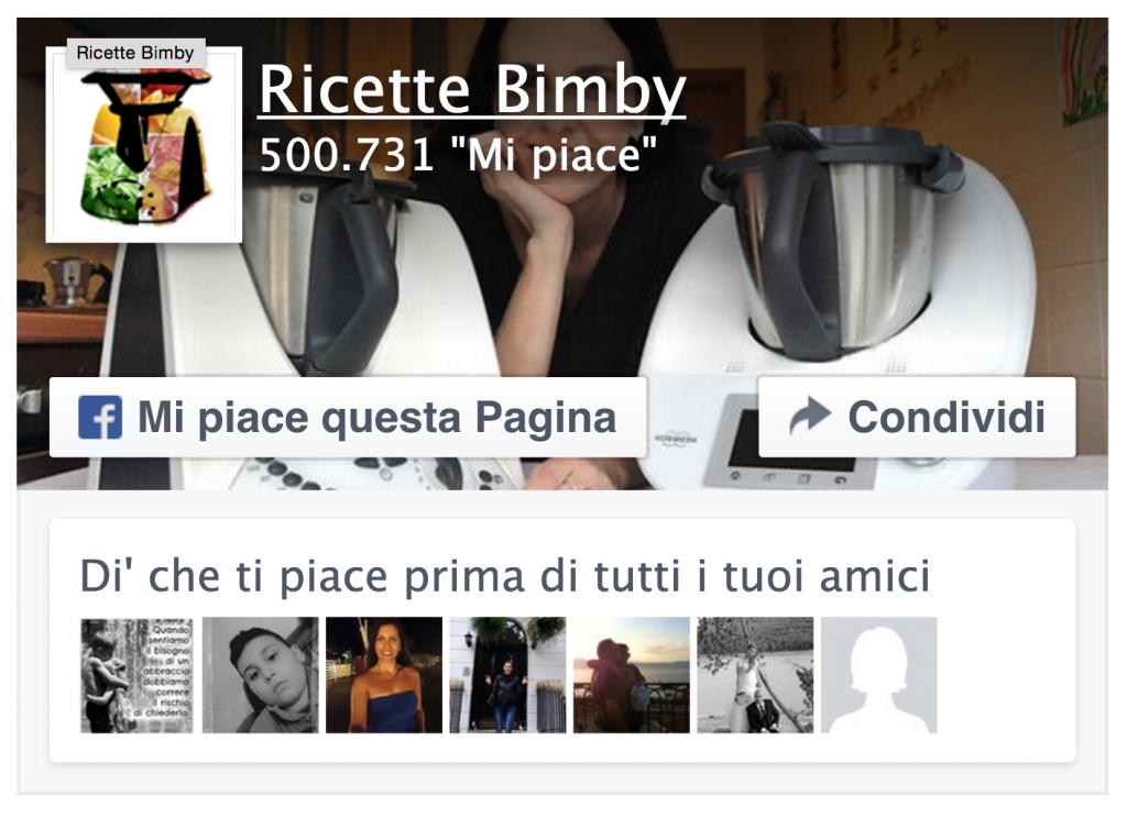 Ricette Bimby su Facebook: 500.000 fan!