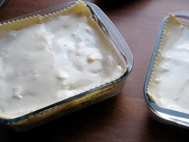 Besciamella senza latte e burro