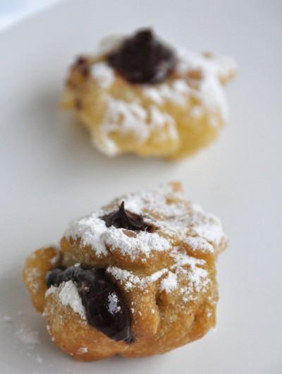 Castagnole alla Nutella