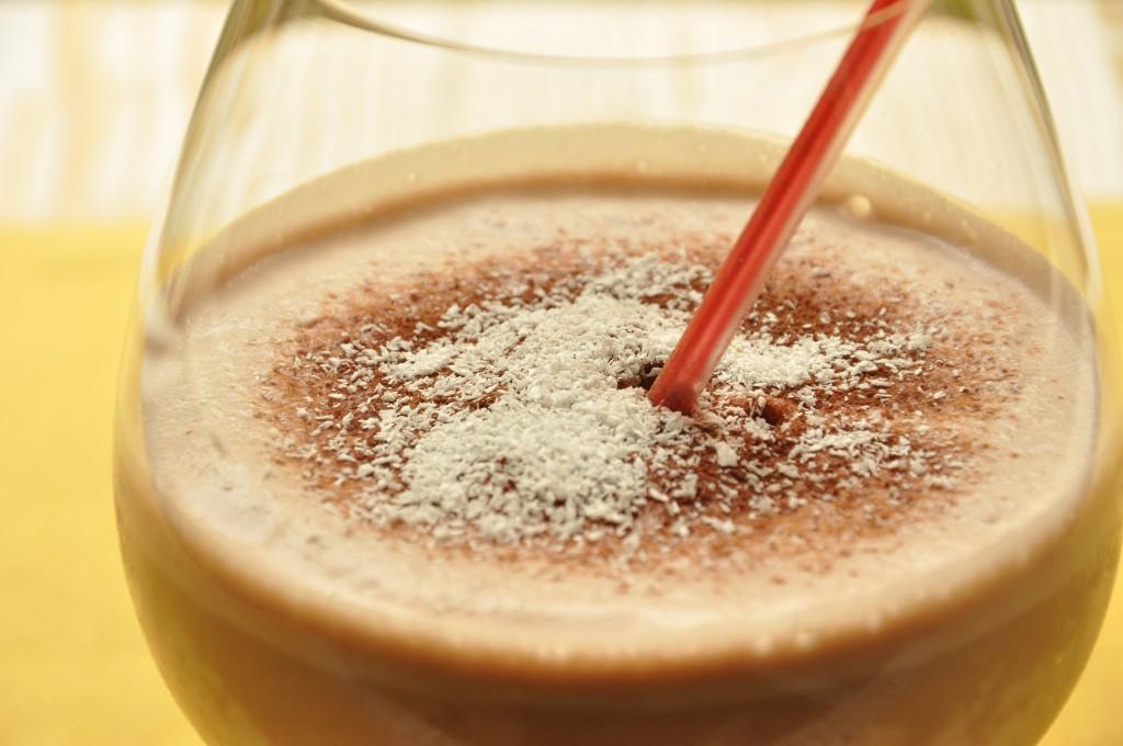 Frappè cioccolato e cocco