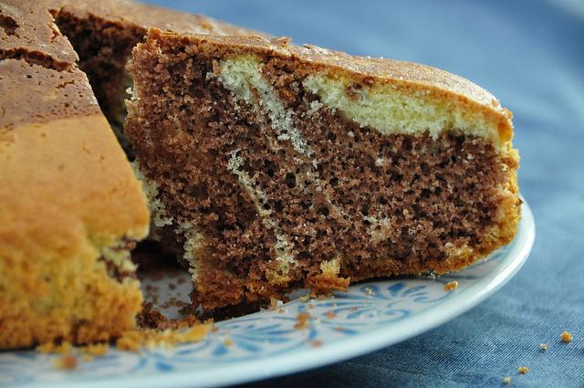 Torta marmorizzata senza glutine