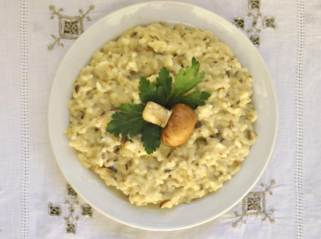 Ricette bimby risotto con funghi porcini