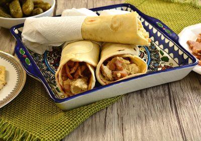 Pane arabo per kebab