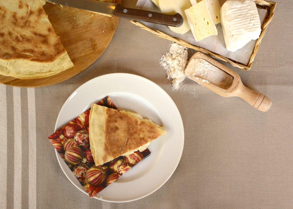 Focaccia veloce al formaggio