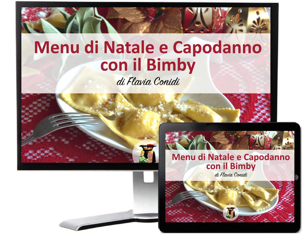 Menu di Natale e Capodanno con il Bimby – Ricettario ebook