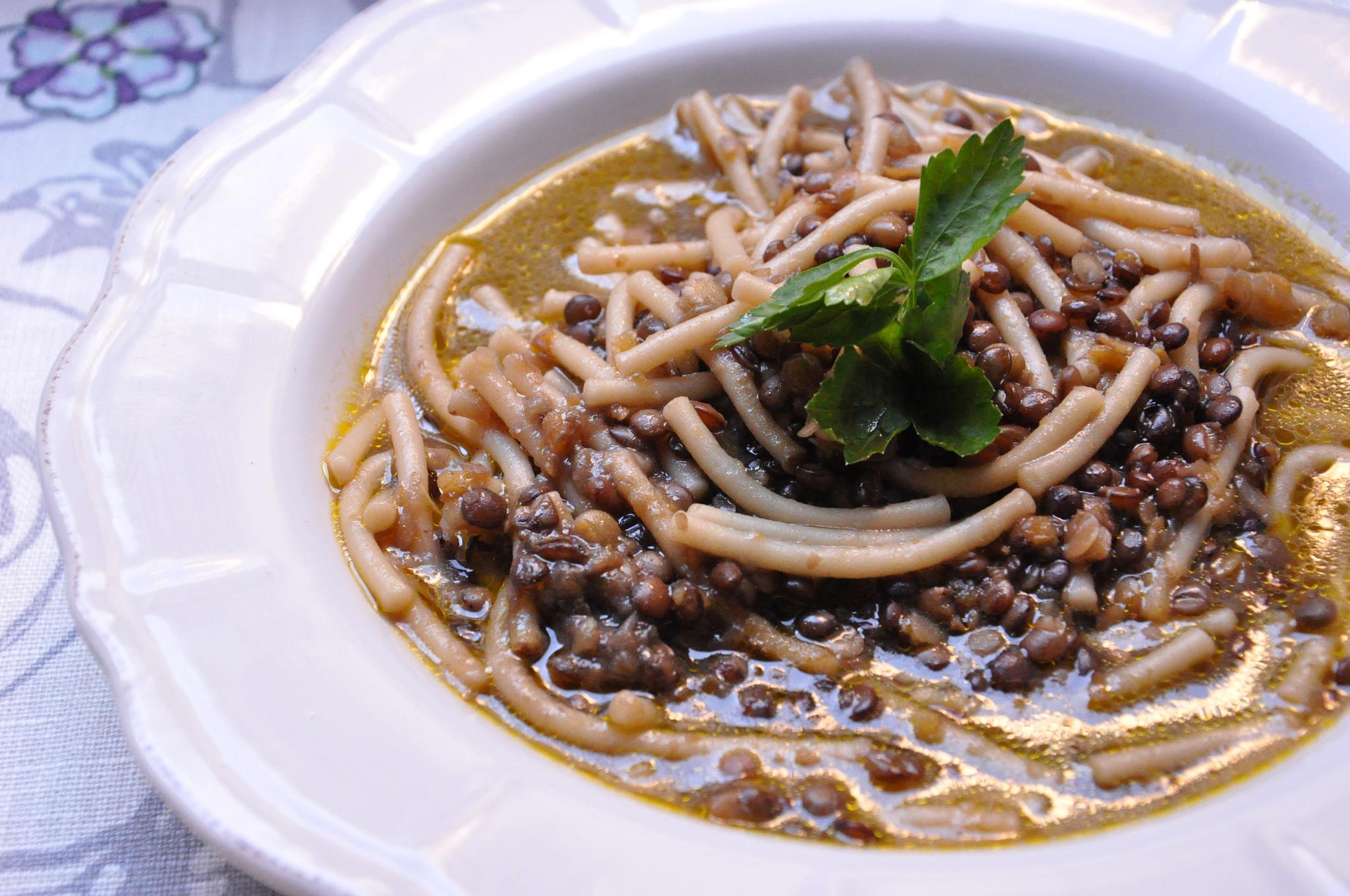 Ricetta bimby zucca e lenticchie