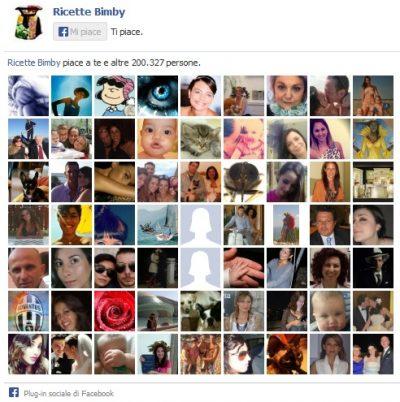 Ricette Bimby su Facebook: 200 mila fan
