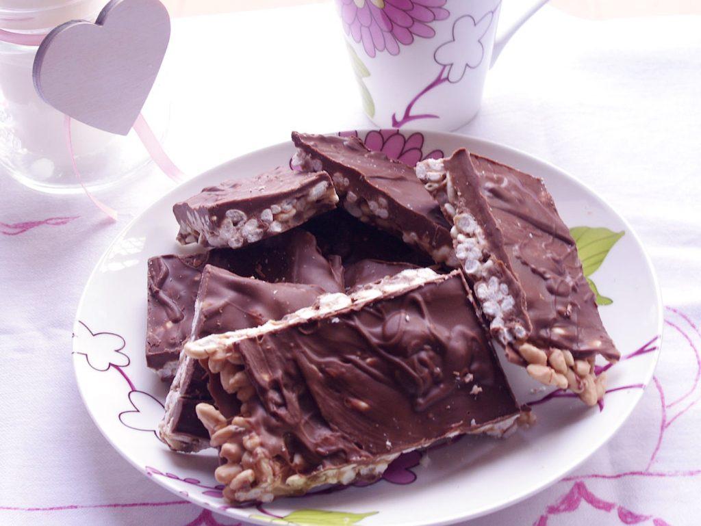 Kinder cereali: barrette al cioccolato