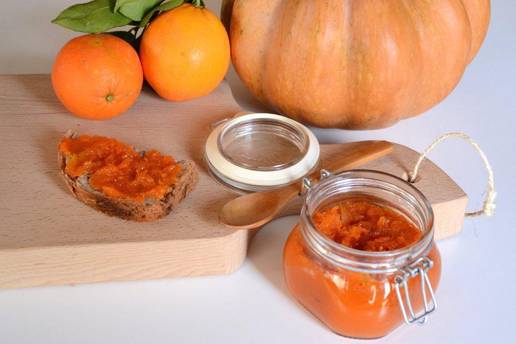 Confettura di zucca e arance