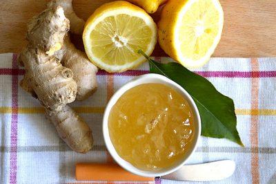 Marmellata limoni e zenzero