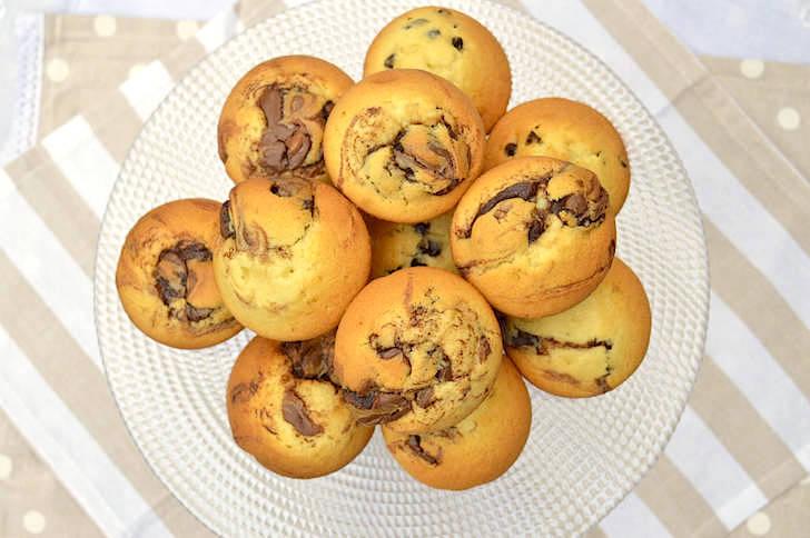Muffin mascarpone e Nutella
