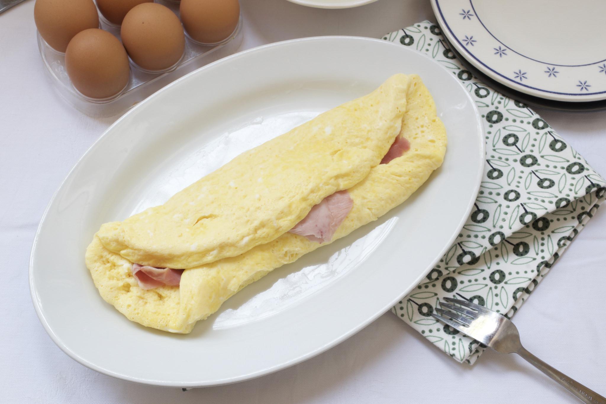 Ricetta Omelette Bimby Tm5.Omelette Prosciutto E Formaggio Bimby Tm31 Tm5