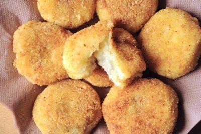 Crocchette di patate ripiene di gorgonzola