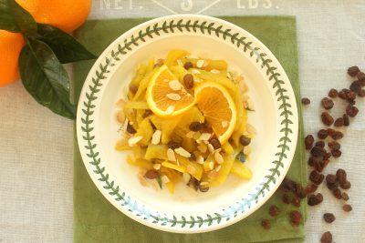 Finocchi arancia e zafferano