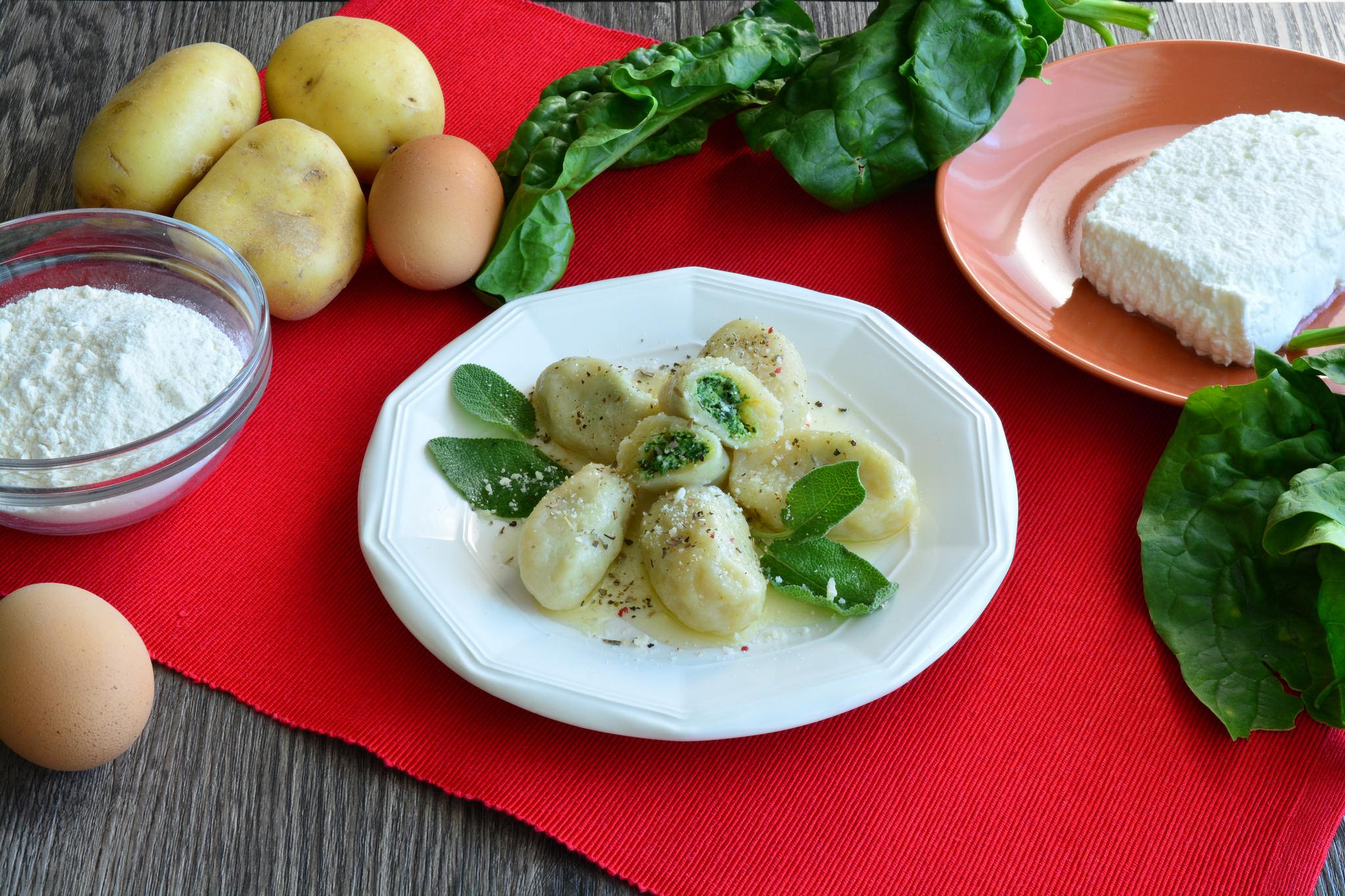 Ricetta bimby gnocchi di spinaci