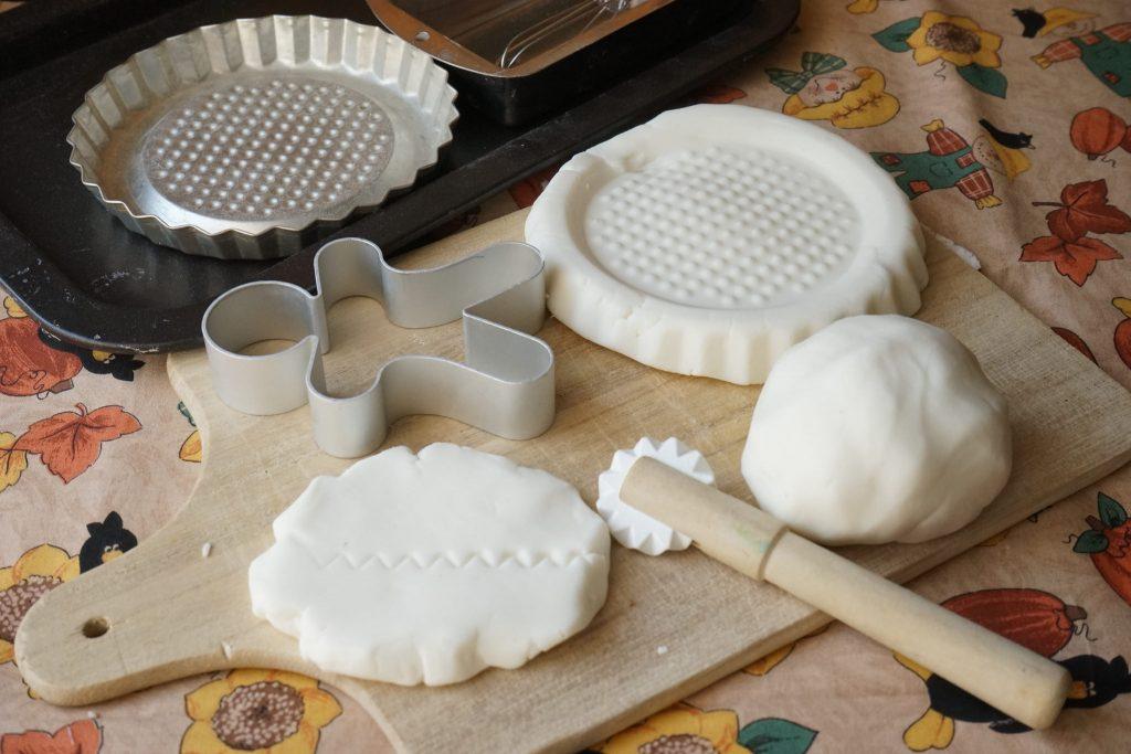 Lavoretti Di Natale Con La Pasta Di Mais.Pasta Modellabile Di Bicarbonato Bimby Tm31 Tm5