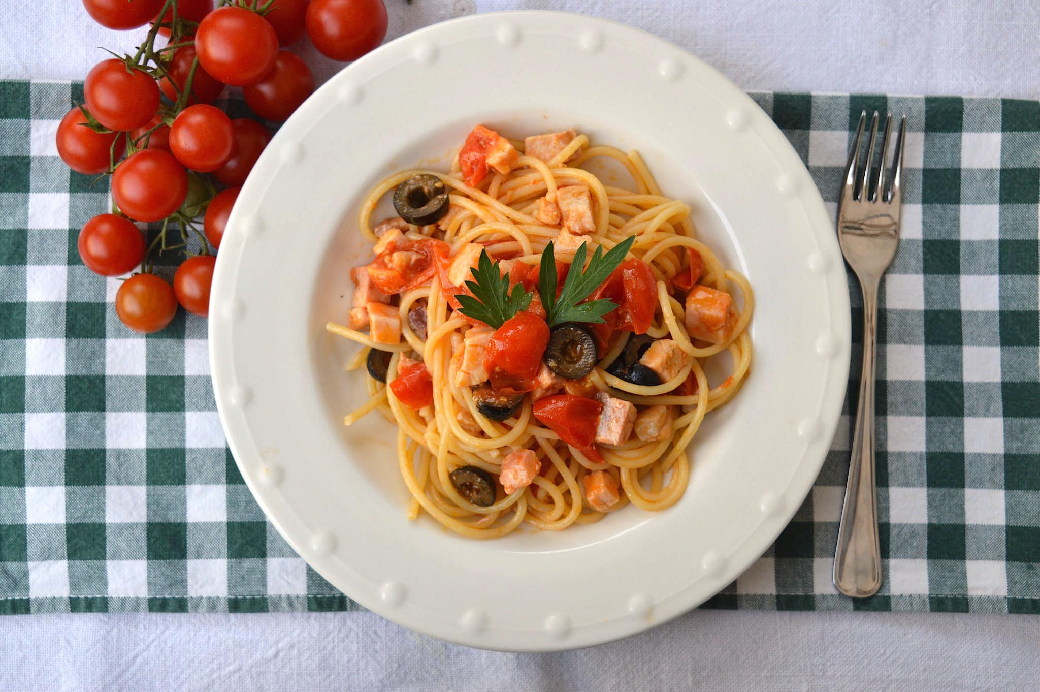 Spaghetti al pesce spada bimby tm31 tm5 for Spaghetti ricette