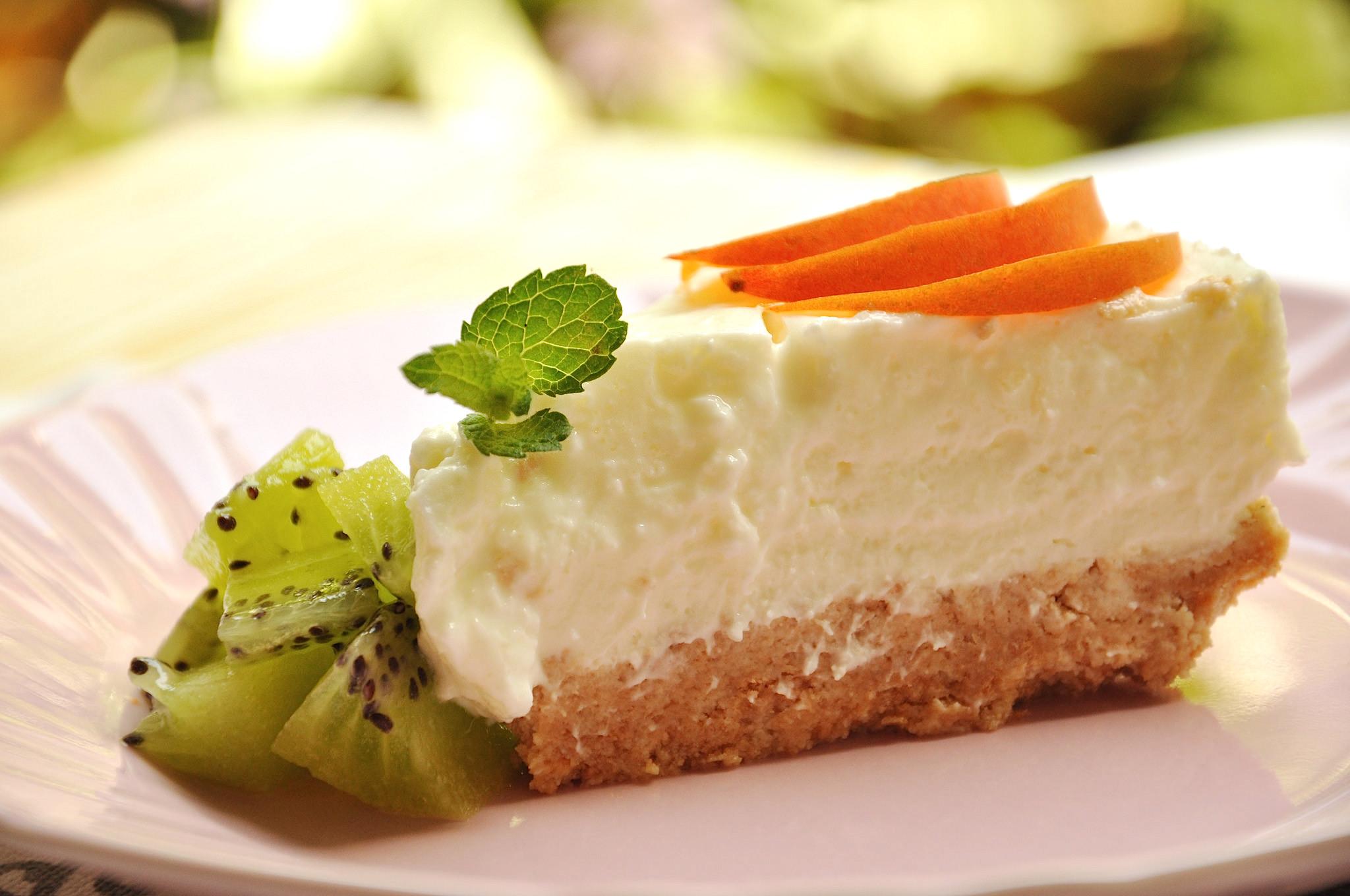 Torta fredda allo yogurt bimby tm31 tm5 for Ricette bimby torte