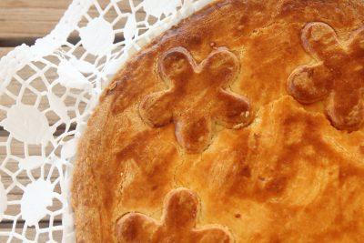 Torta rustica zucchine e ricotta
