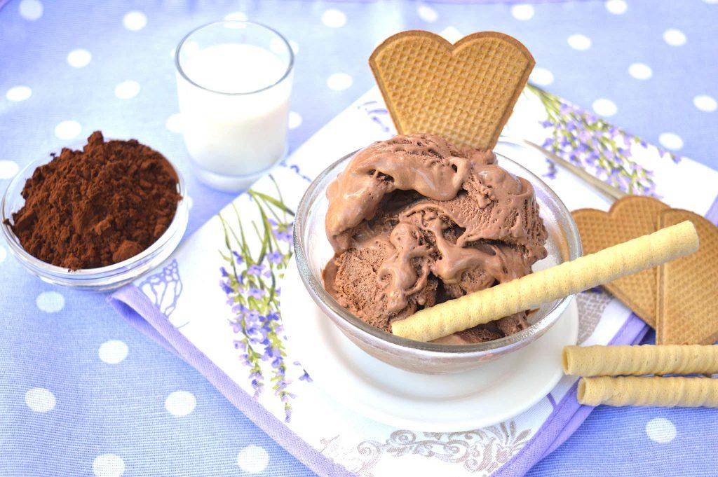 Ricetta gelato al cioccolato bimby senza panna