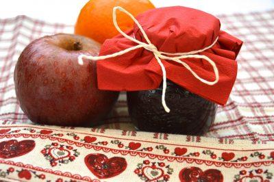 Confettura mele e cioccolato