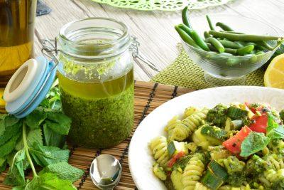 Pesto menta e pistacchi
