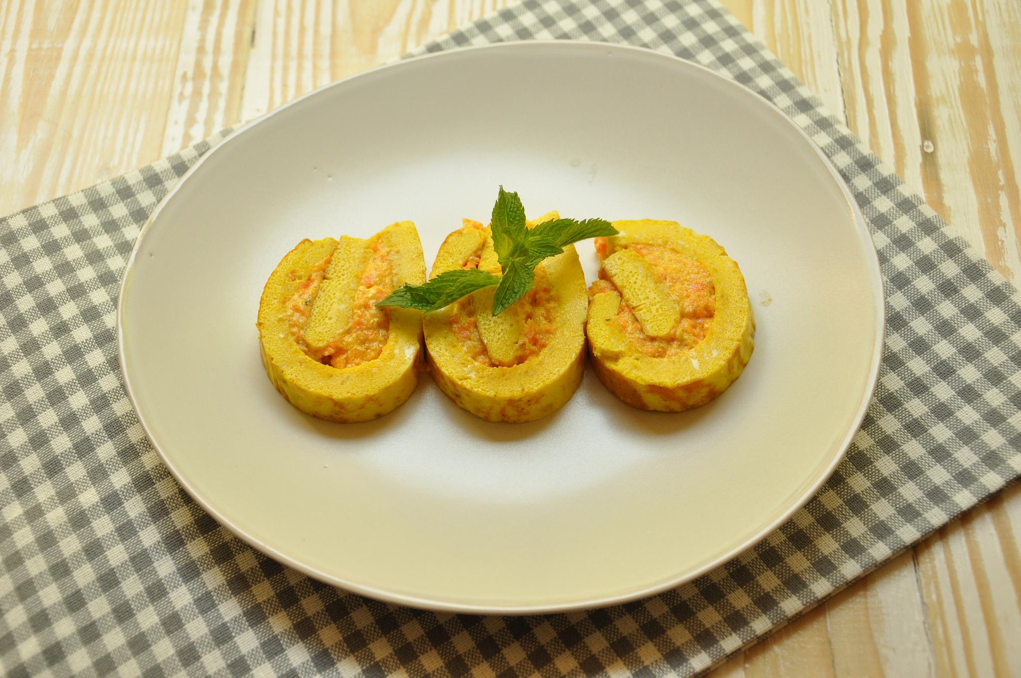 Ricetta Omelette Bimby Tm5.Rotolo Di Frittata Bimby Tm31 Tm5