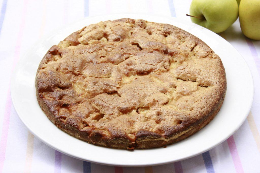 Torta di mele con farina kamut