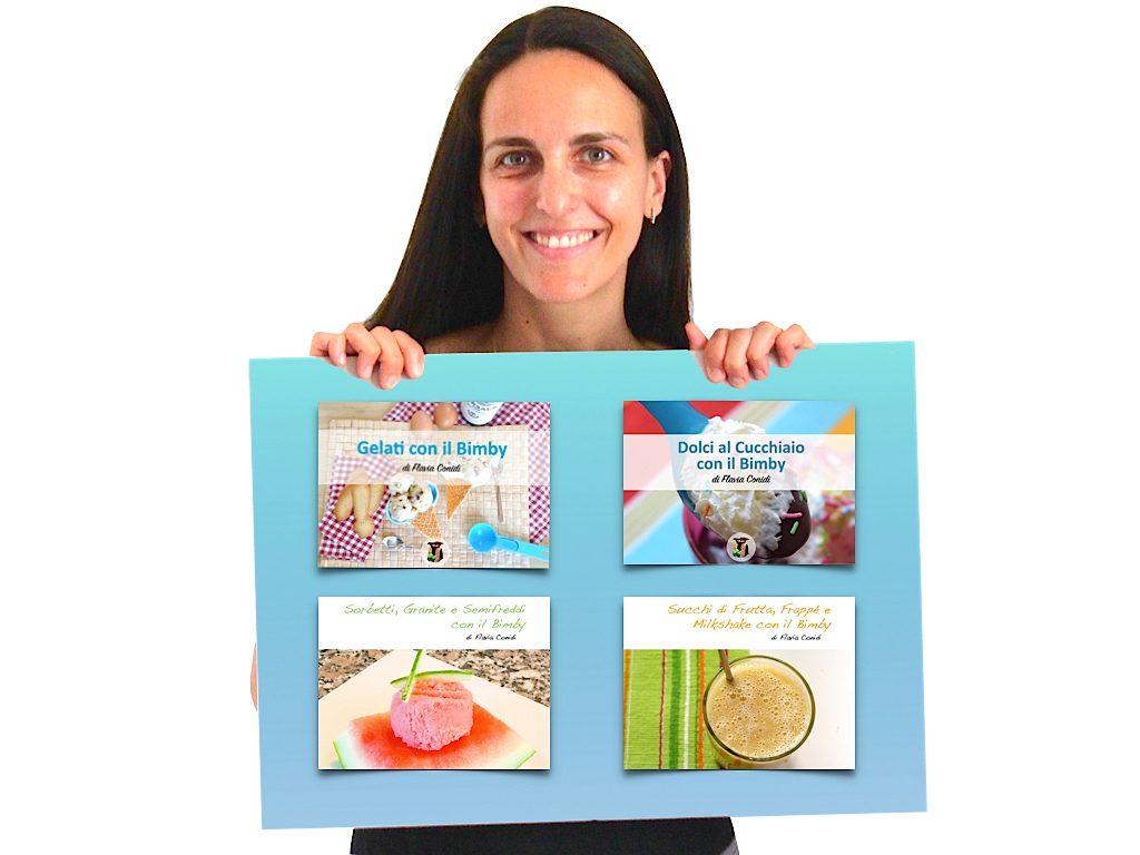 Collezione ebook: Ricette Dolci Estive con il Bimby