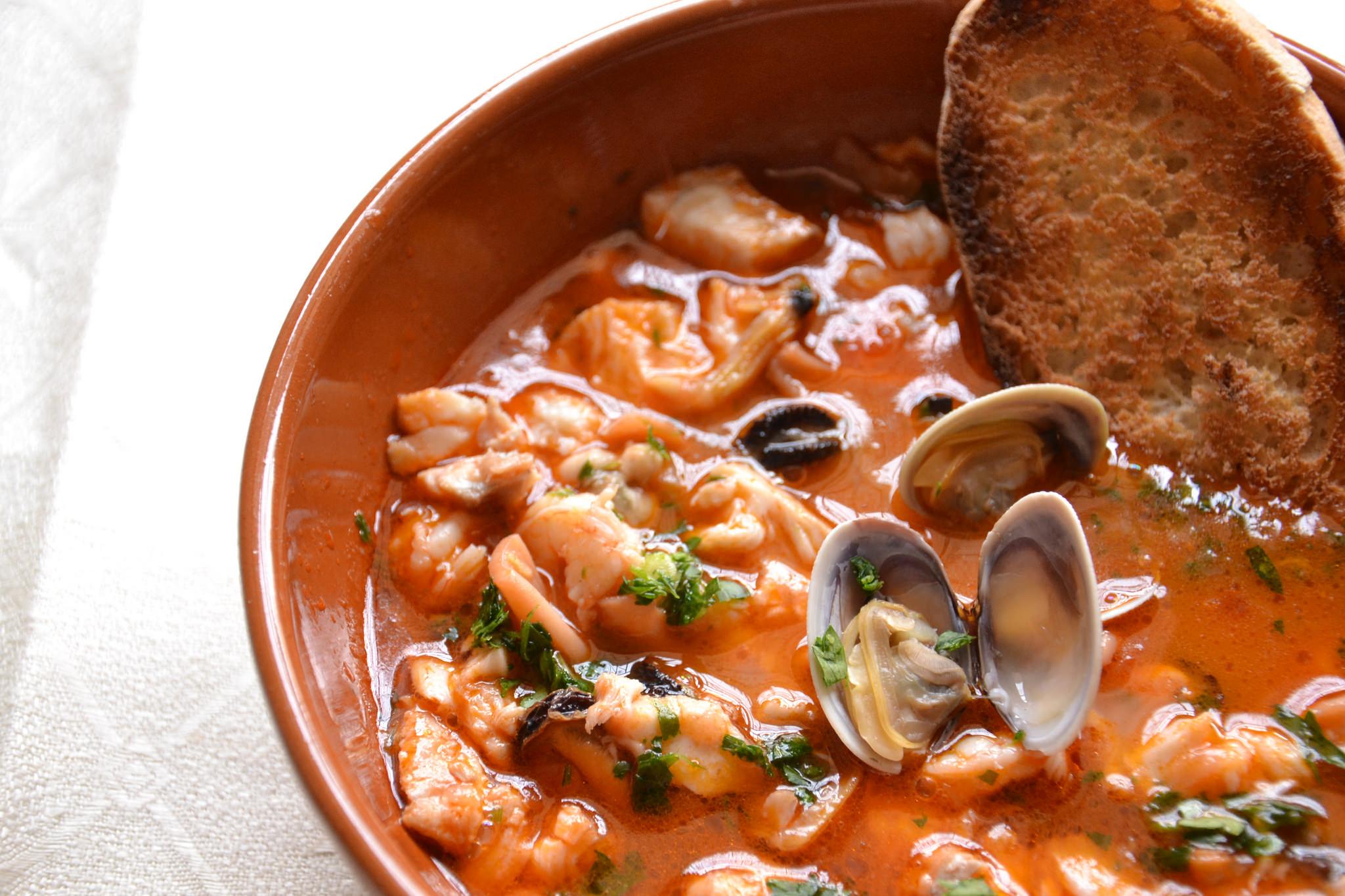Zuppa di pesce bimby tm31 tm5 for Ricette di pesce