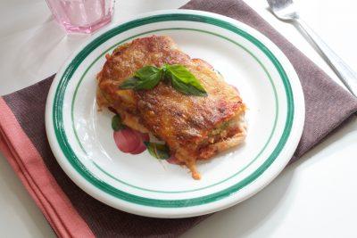 Parmigiana di zucchine alla napoletana
