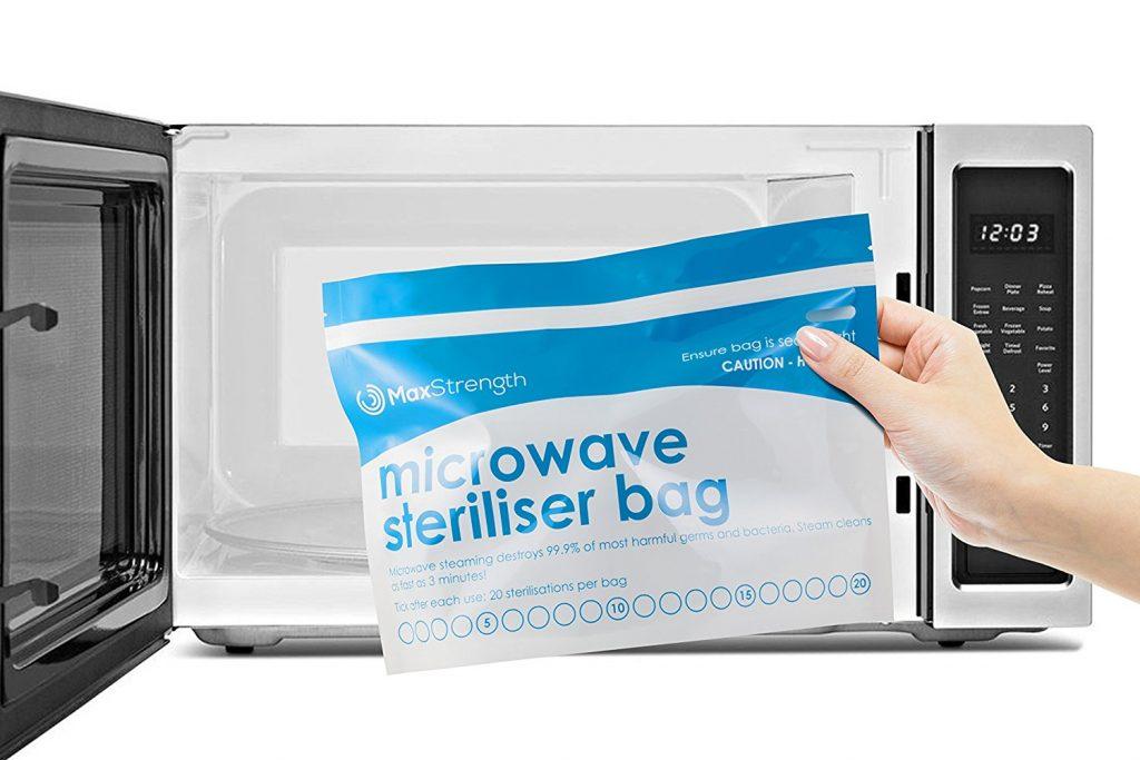 Sacchetti per sterilizzazione a microonde