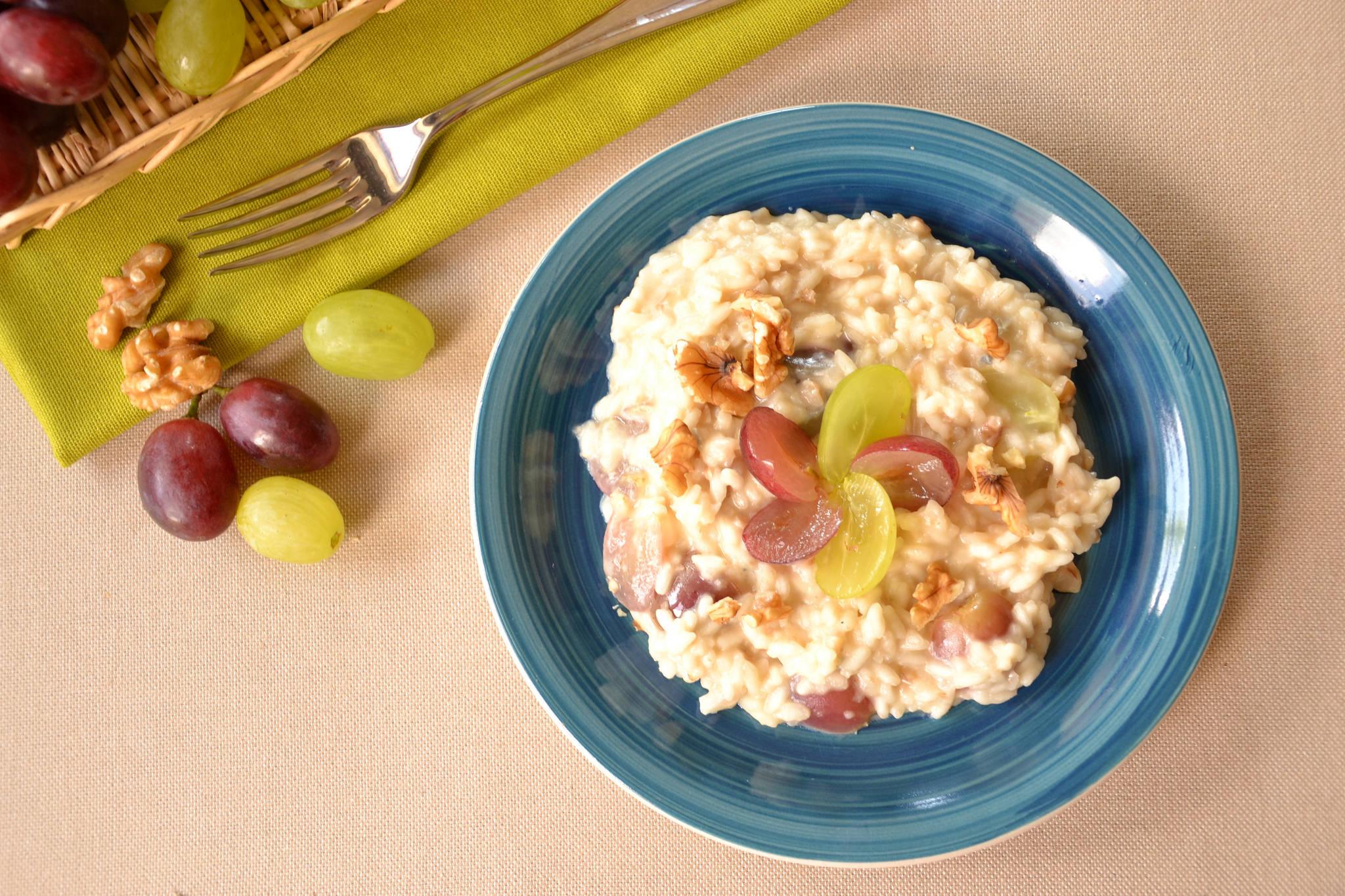 Risotto uva e gorgonzola bimby tm31 tm5 for Risotto ricette