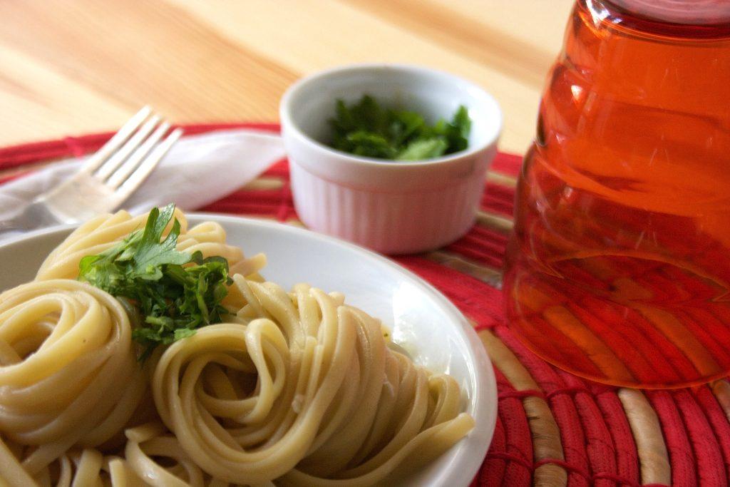 Spaghetti aglio, olio e alici