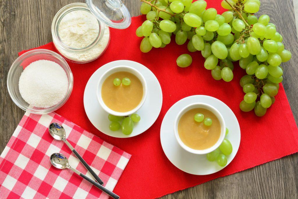 Sugoli di uva bianca